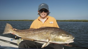 12 yr Old with huge redfish