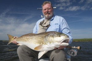 30 lb louisiana redfish on the fly