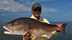 Biloxi Marsh Still Producing Big Redfish