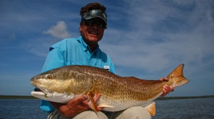 Color Blind Yet Seeing Red Fish