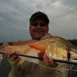 Popper fishing for Louisiana Redfish
