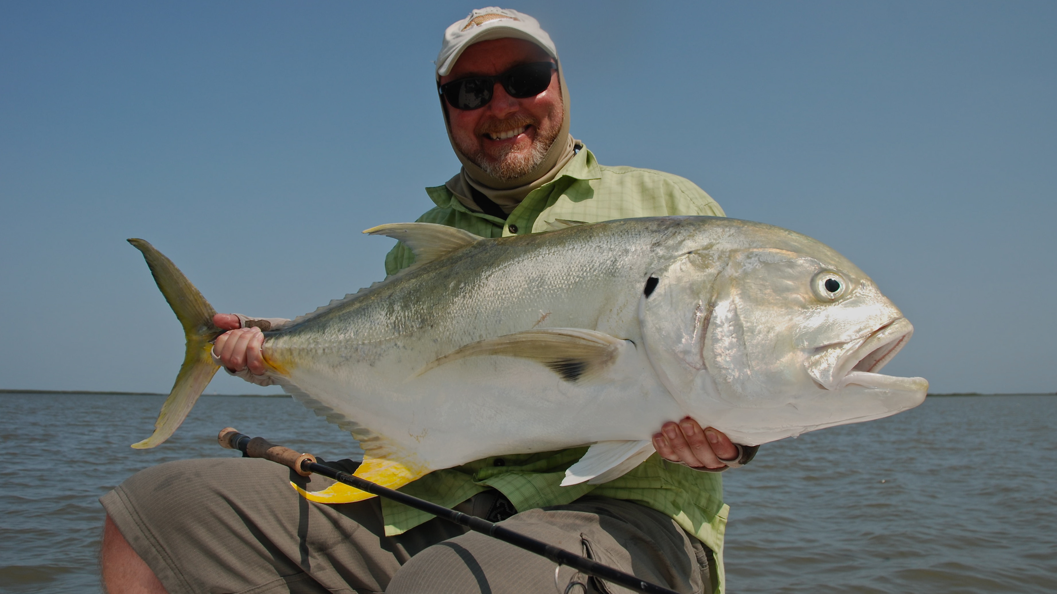 Fly fishing for jacks in louisiana shallow south for What is a jack fish
