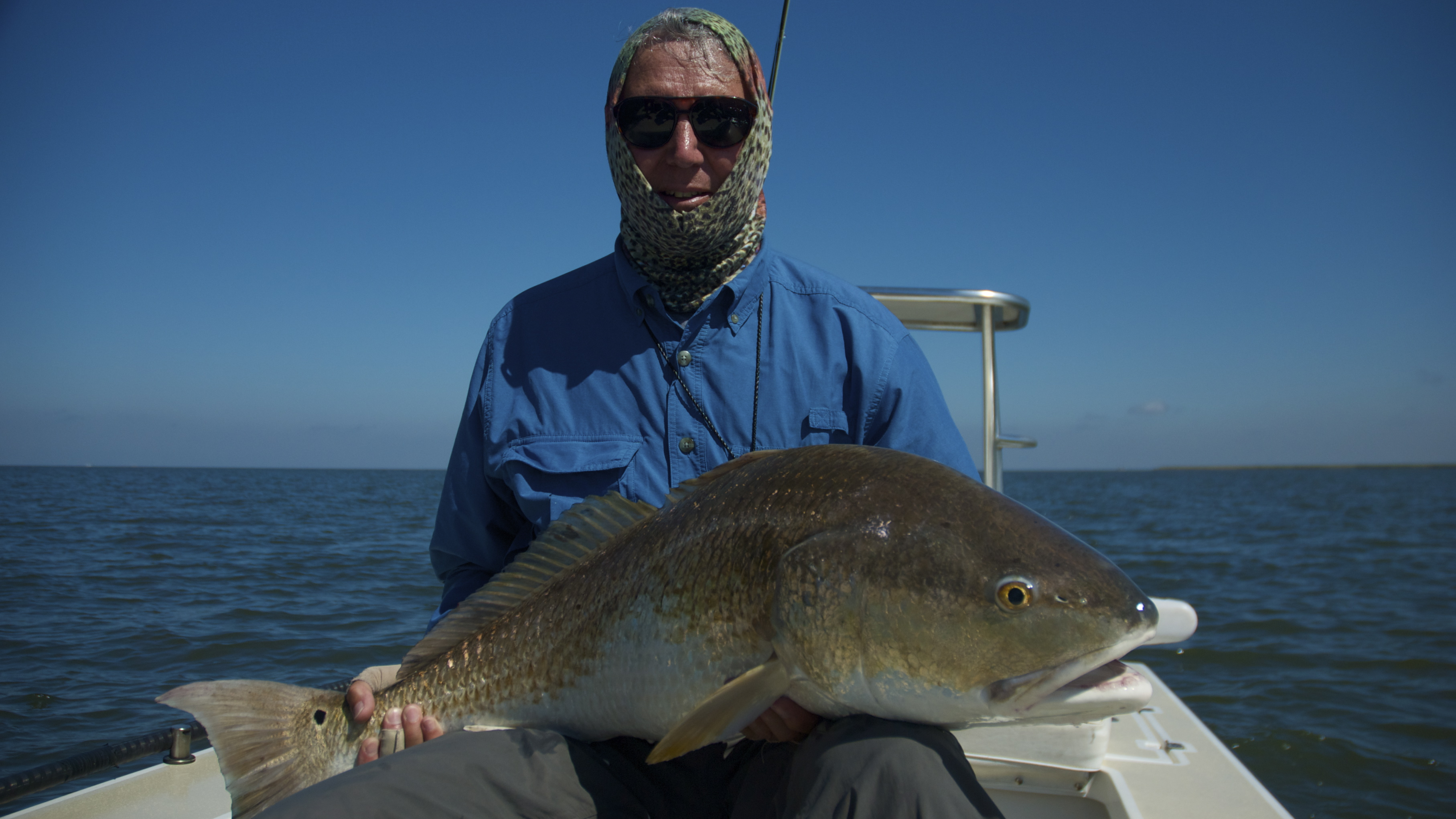 Fly fishing for redfish in louisiana shallow south for Fly fishing for redfish