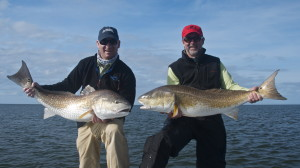 Cold Winter Redfishing is Heating Up